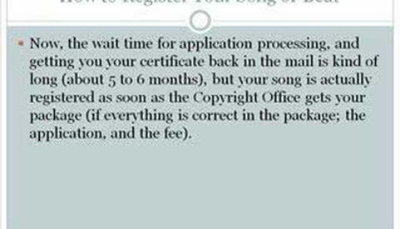 How To Get Your Music, Beats, or Lyrics Copyrighted